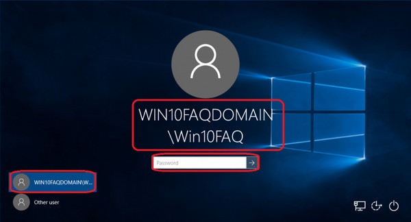 how to change windows 10 password without logging in